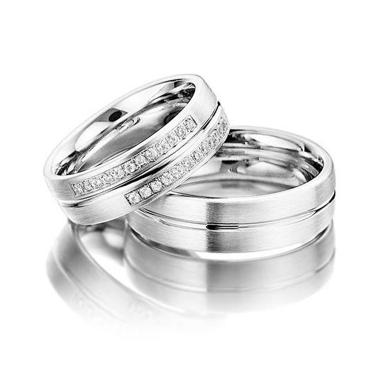 Свадебные украшения ручной работы. Ярмарка Мастеров - ручная работа. Купить Обручальные кольца Modern 81-061 NEW. Handmade.
