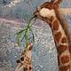 Игрушки животные, ручной работы. Заказать Жирафы. Natasha Yavid. Ярмарка Мастеров. Жирафы, валяние из шерсти, каркас