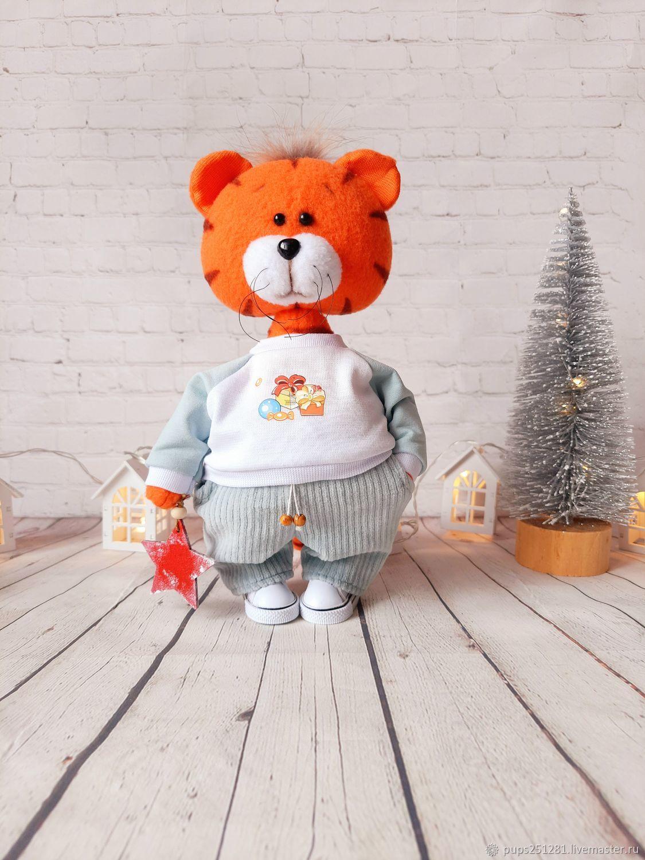 Matvey the Tiger. Symbol of the year 2022, Stuffed Toys, Suvorov,  Фото №1