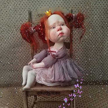 Куклы и игрушки ручной работы. Ярмарка Мастеров - ручная работа Куклы: ПрЫнцесса. Handmade.