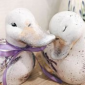 Для дома и интерьера handmade. Livemaster - original item Lavender fields, ceramic pair. Handmade.