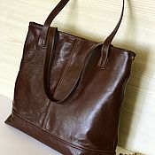 Сумки и аксессуары handmade. Livemaster - original item Leather bag