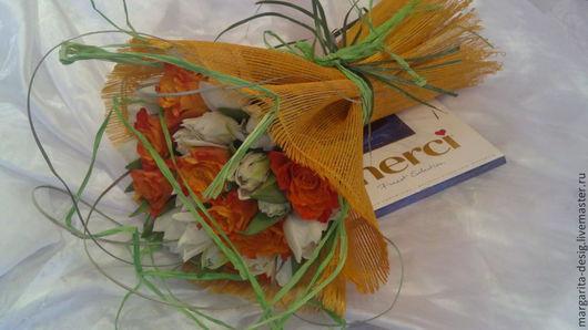 Букет из живых цветов Единственная автор Веденеева Маргарита