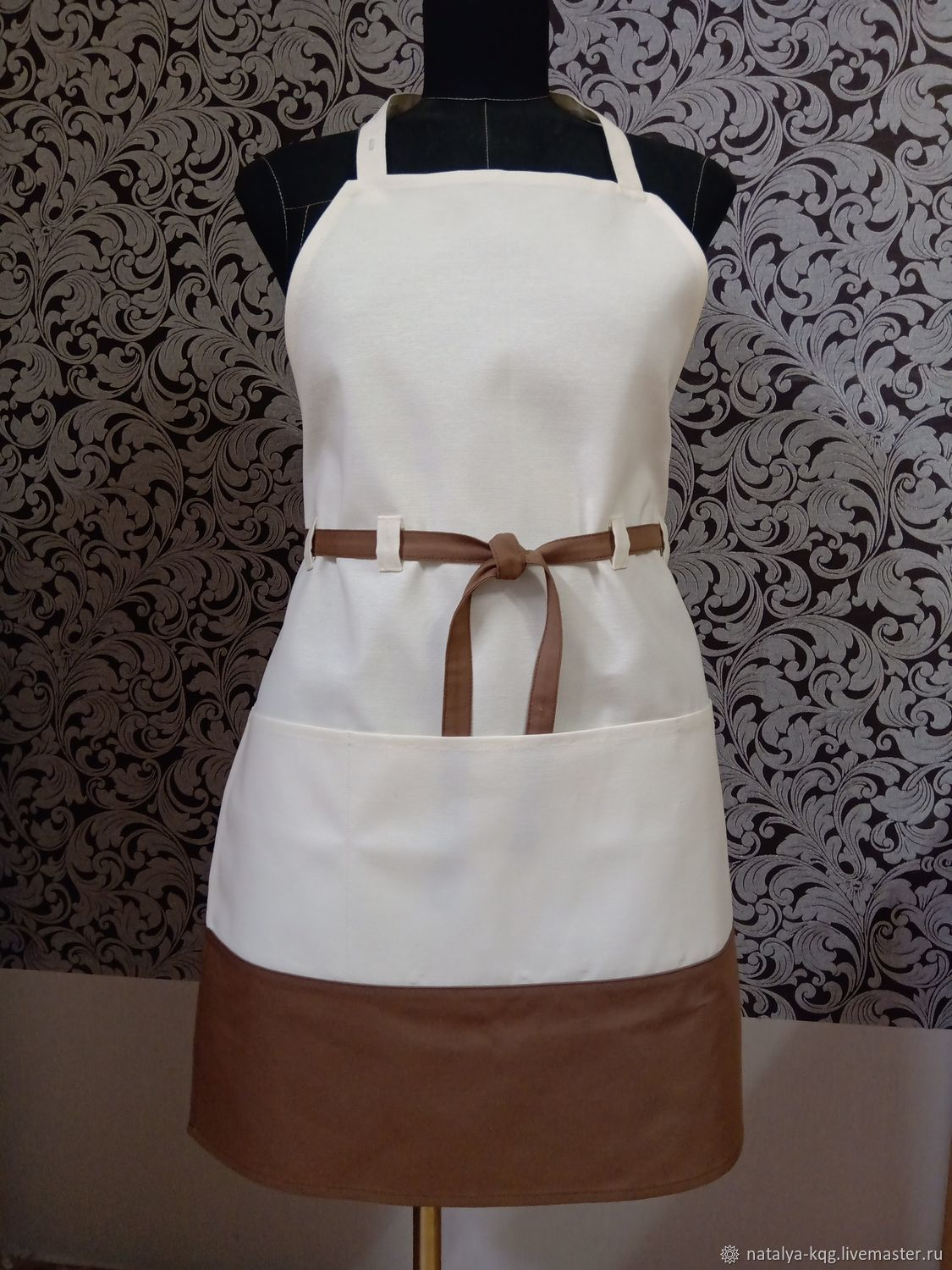 aprons: Apron with water-repellent impregnation-hostess, Aprons, Dubna,  Фото №1