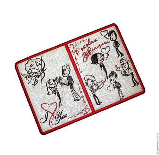 """Обложки ручной работы. Ярмарка Мастеров - ручная работа. Купить Обложка для паспорта """" Роковая женщина  """". Handmade. Паспорт"""