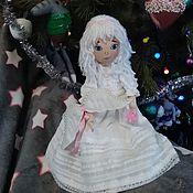 Мягкие игрушки ручной работы. Ярмарка Мастеров - ручная работа Для примера    Ангелочек#подарок#ангел-хранитель#оберег#. Handmade.