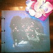 Блокноты ручной работы. Ярмарка Мастеров - ручная работа Блокноты: в китайском стиле. Handmade.