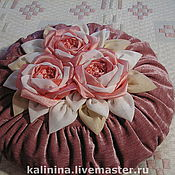 Для дома и интерьера ручной работы. Ярмарка Мастеров - ручная работа Розы для украшения подушек и штор (в ассортименте). Handmade.