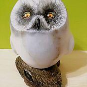 Для дома и интерьера handmade. Livemaster - original item Sculpture of natural stone Owl. Handmade.