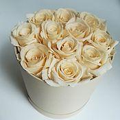 Цветы ручной работы. Ярмарка Мастеров - ручная работа Розы в коробке 11 штук. Handmade.