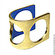 """Кольца ручной работы. Кольцо """"TRUBODUR2"""". Анна Середова (kookoozi). Интернет-магазин Ярмарка Мастеров. Техноарт, эмаль, латунь позолоченная"""
