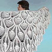 Shawls handmade. Livemaster - original item Shawl crochet