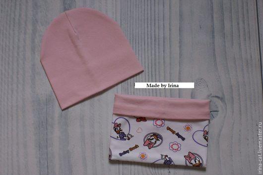 """Одежда для девочек, ручной работы. Ярмарка Мастеров - ручная работа. Купить Комплект осеннний шапка + снуд """"Поночка"""". Handmade."""