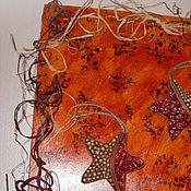 Картины и панно ручной работы. Ярмарка Мастеров - ручная работа Два сердца в океане.. Handmade.