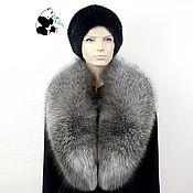 Аксессуары handmade. Livemaster - original item Removable fur collar Fox fur.TK-521. Handmade.