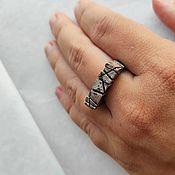 Украшения handmade. Livemaster - original item Signet Ring Drought. Handmade.