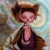 Куклы и игрушки ручной работы. Ярмарка Мастеров - ручная работа Птичка-лисичка, авторская кукла. Handmade.