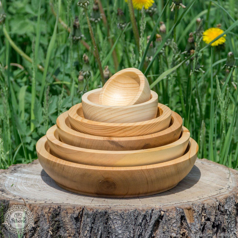 Pine Wooden Plates (6#18, Utensils, Novokuznetsk,  Фото №1
