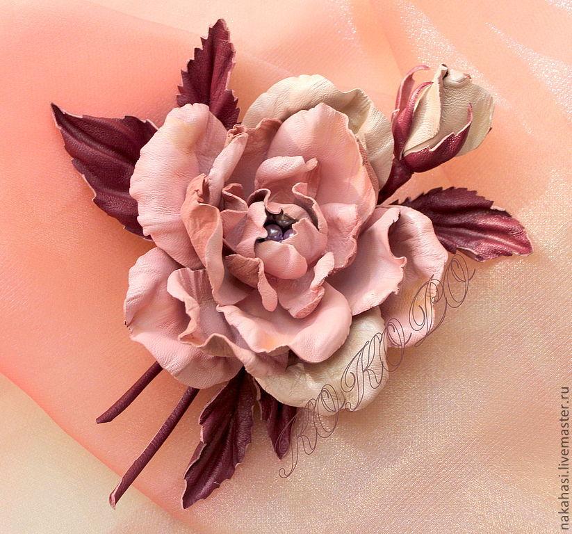 педагоги приобщают цветы из кожи как делать и фото любым предложенных бамперов