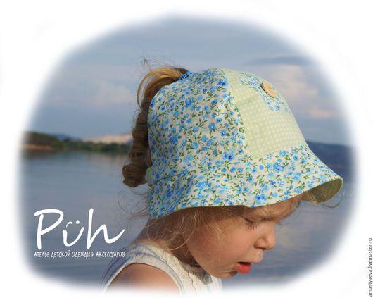 Шапки и шарфы ручной работы. Ярмарка Мастеров - ручная работа. Купить Панама для девочки. Handmade. Комбинированный, панамка, шляпка