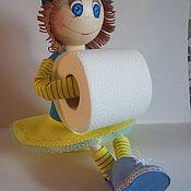 Кукла - держатель для туалетной бумаги (по МК Евгении Эвик Романовой)