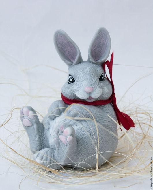 """Мыло ручной работы. Ярмарка Мастеров - ручная работа. Купить Мыло """"Заяц"""". Handmade. Комбинированный, сувенирное мыло"""
