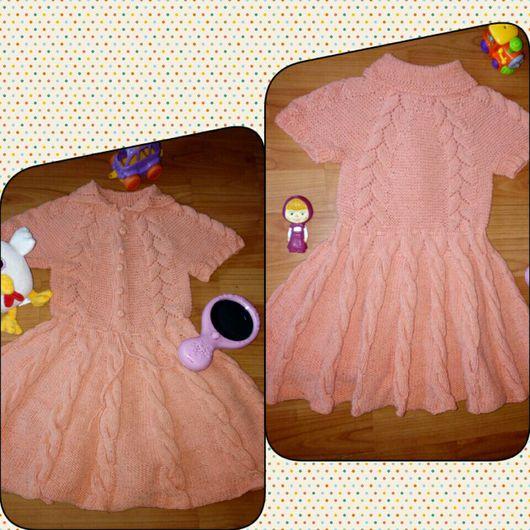 Одежда для девочек, ручной работы. Ярмарка Мастеров - ручная работа. Купить Платье летнее из хлопка. Handmade. Платье для девочки