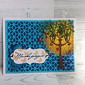Открытки handmade. Livemaster - original item !Greeting card handmade for all occasions). Handmade.