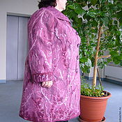 "Одежда ручной работы. Ярмарка Мастеров - ручная работа Пальто "" Розовая дымка "". Handmade."