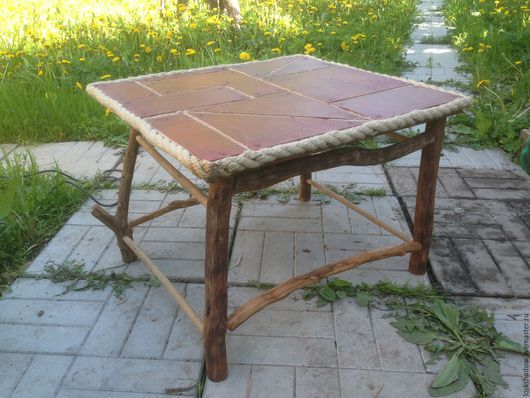 Столик `Тетрис` готовиться к финальному покрытию лаком.)))