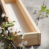 Ящики ручной работы. Ярмарка Мастеров - ручная работа Ящик деревянный декоративный. Handmade.