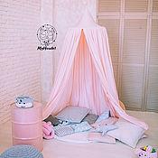 Балдахин для кроватки ручной работы. Ярмарка Мастеров - ручная работа Розовый Шатер в детскую - Балдахин детский. Handmade.