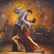 Картины и панно ручной работы. Ярмарка Мастеров - ручная работа Танго. Handmade.