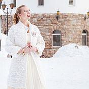 """Одежда ручной работы. Ярмарка Мастеров - ручная работа Пальто """"Сливочная глазурь"""". Handmade."""