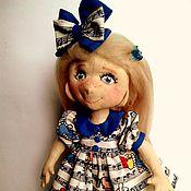 Куклы и игрушки ручной работы. Ярмарка Мастеров - ручная работа Ася- текстильная куколка. Handmade.