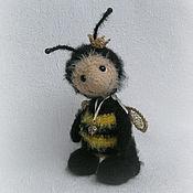 Куклы и игрушки ручной работы. Ярмарка Мастеров - ручная работа пчелка Динка. Handmade.