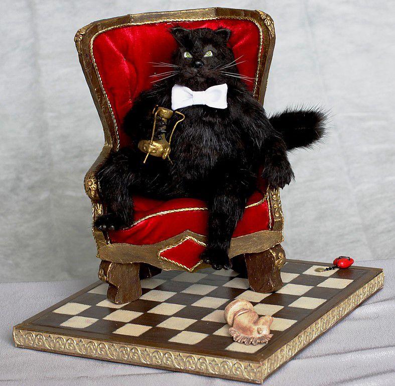 Описание кота бегемота из романа