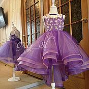 Одежда ручной работы. Ярмарка Мастеров - ручная работа Одежда: нарядное платье с люневильской вышивкой. Handmade.