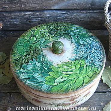 Для дома и интерьера ручной работы. Ярмарка Мастеров - ручная работа «Herbes de provence». Handmade.
