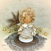 Куклы и игрушки ручной работы. Ярмарка Мастеров - ручная работа Ангел снежный. Handmade.