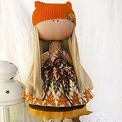 Куклы и игрушки ручной работы. Ярмарка Мастеров - ручная работа Осенняя крошка Настасья. Handmade.