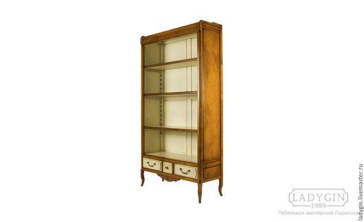 Мебель ручной работы. Ярмарка Мастеров - ручная работа. Купить Библиотека 150 см. открытая. Handmade. Библиотека, винтаж, старение