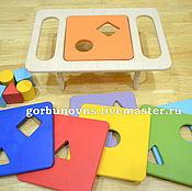 Куклы и игрушки handmade. Livemaster - original item Playsets: Developing A Table Sorter Toy. Handmade.