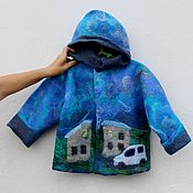 Работы для детей, handmade. Livemaster - original item Children`s jacket