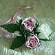 Заколки ручной работы. Заказать Шпильки для волос с розами из фоамирана.. Юлия Ким. Ярмарка Мастеров. Шпильки для невесты, украшение для волос