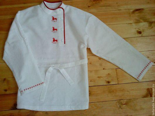 Русская рубашка косоворотка для мальчика своими руками
