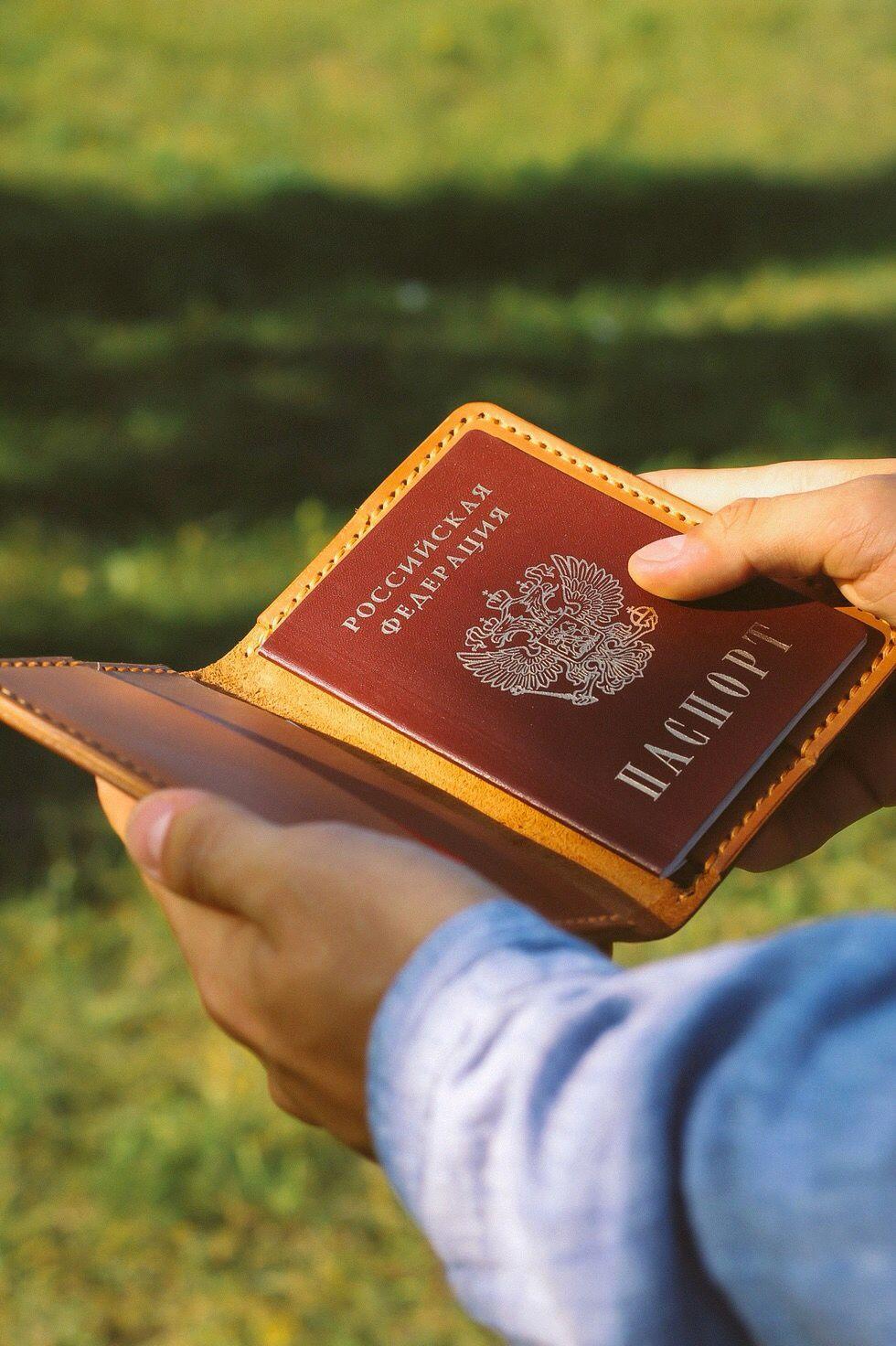 Универсальное кожаное портмоне, Органайзеры, Тольятти, Фото №1