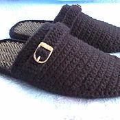handmade. Livemaster - original item Slippers for men. Handmade.
