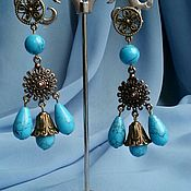 Украшения handmade. Livemaster - original item Earrings turkmenica. Handmade.