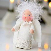Вальдорфские куклы и звери ручной работы. Ярмарка Мастеров - ручная работа Ангелочек Вальдорфская кукла. Handmade.